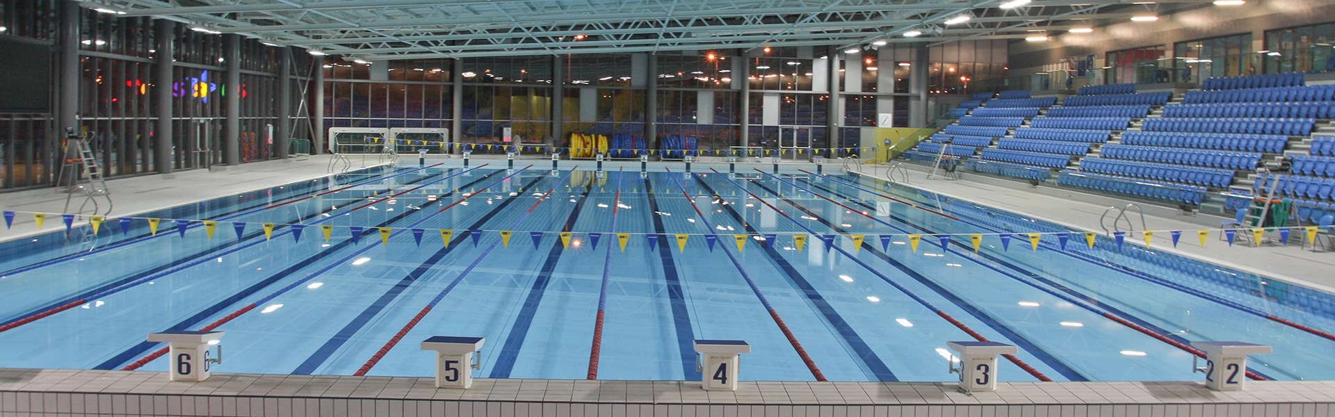 Cardiff international pool cardiff bay for Club piscine west island